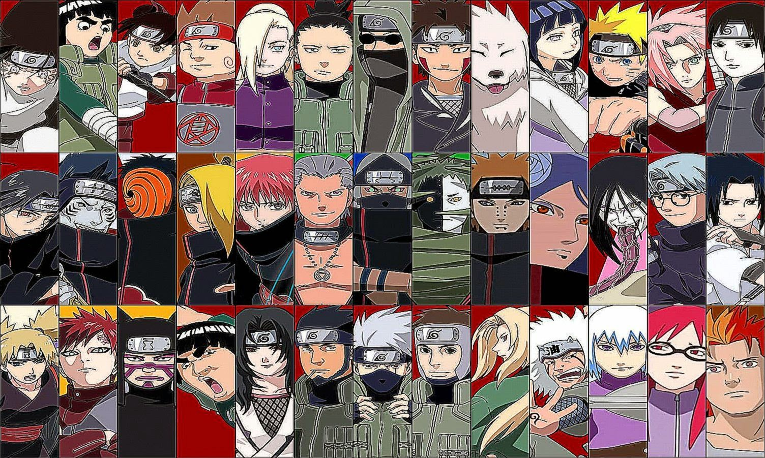 Free Download Naruto Shippuden All Characters Wallpaper 1504x901 For Your Desktop Mobile Tablet Explore 78 Naruto Characters Wallpaper Hd Naruto Wallpapers Naruto Laptop Wallpapers