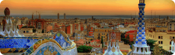 Weekly Wallpaper Trip Around the World Barcelona 570x181