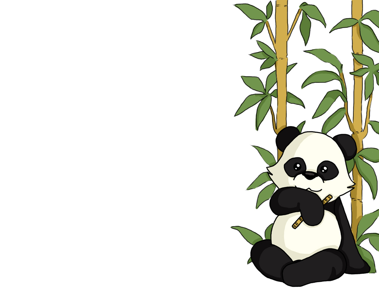 cute panda wallpapers desktop