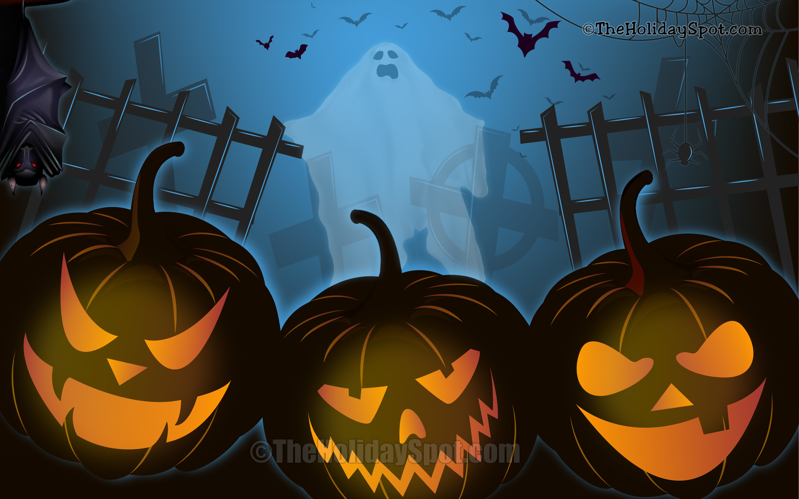 77 Halloween Wallpapers on WallpaperPlay 2560x1600