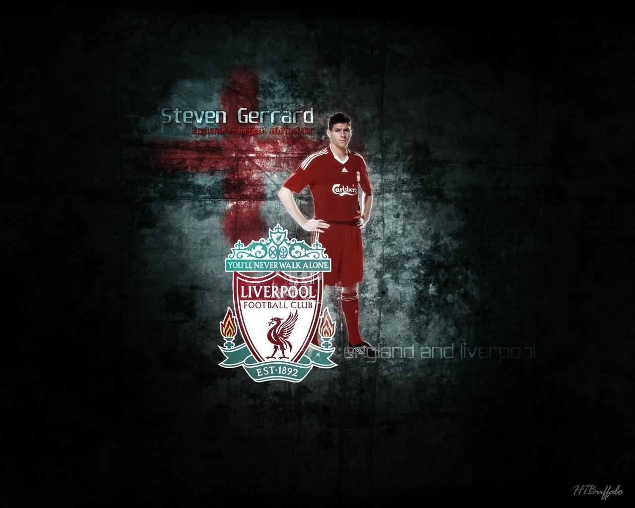Liverpool Fotball Club Logo wallpaper 1280x1024