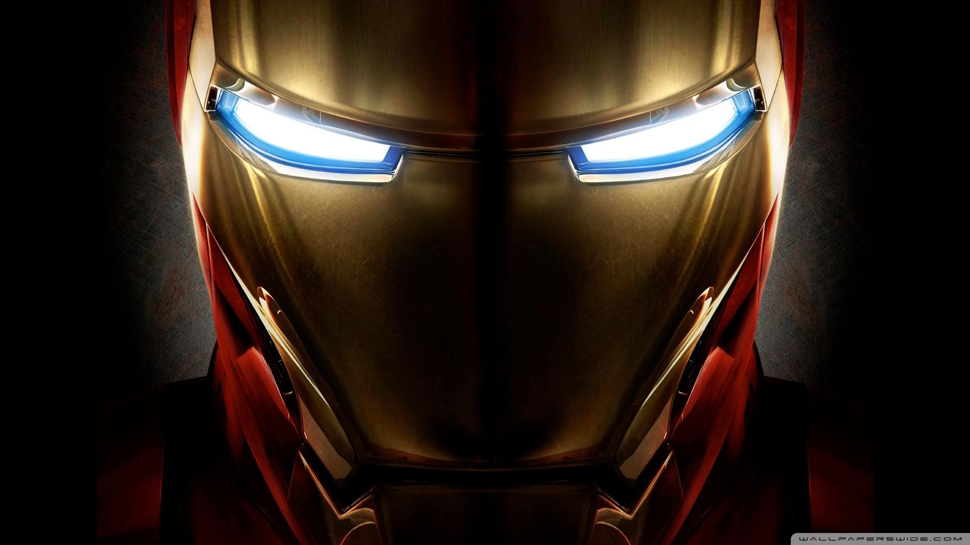 Iron Man Helmet HD Wallpaper Desktop Movie 1920x1080