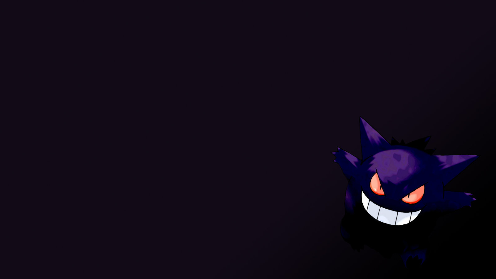 Gengar Wallpaper by Sad7Statue 1600x900