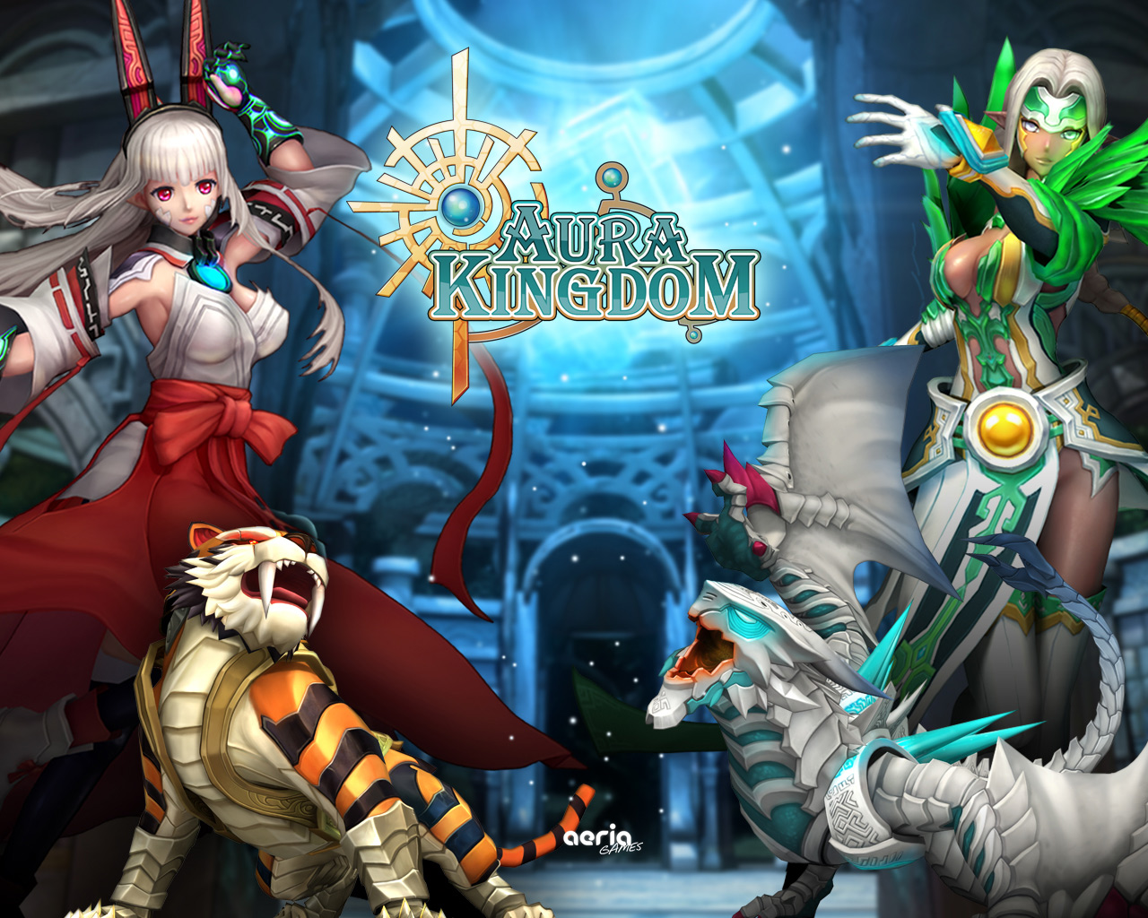 Aura Kingdom   Wallpaper 1280x1024