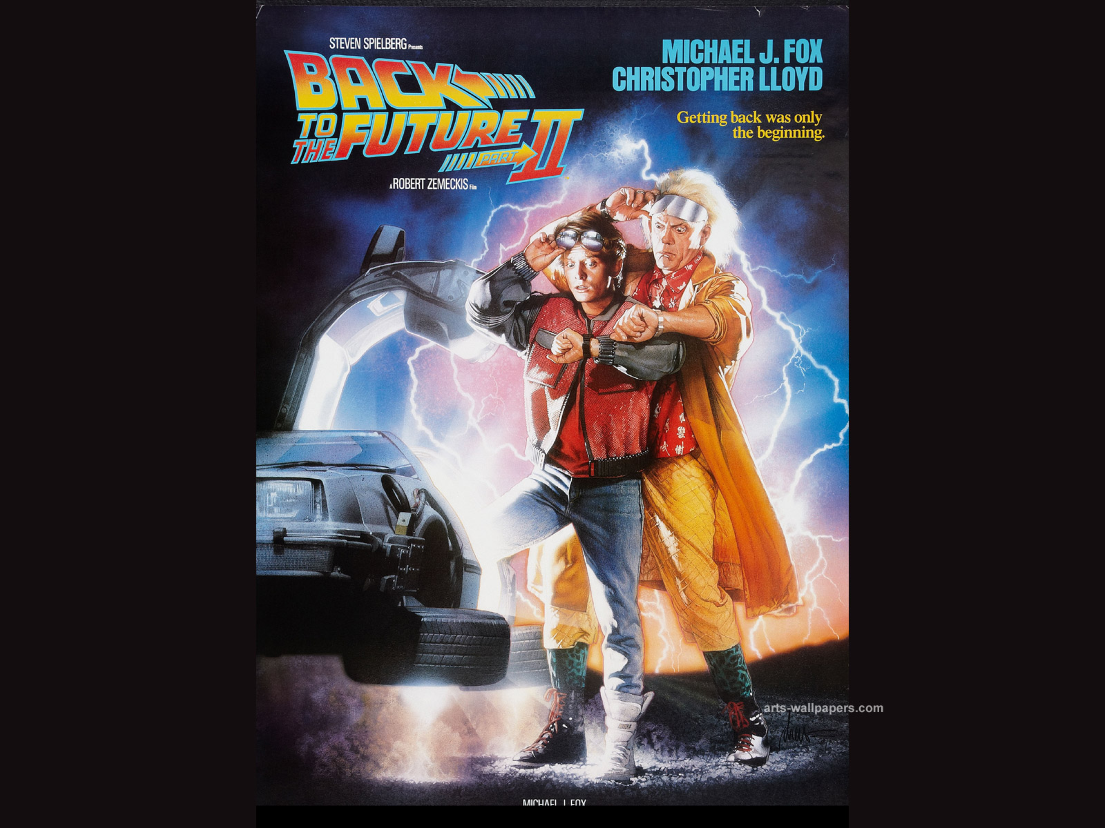 Back to the Future Wallpapers Back to the Future Movie Wallpapers 1600x1200