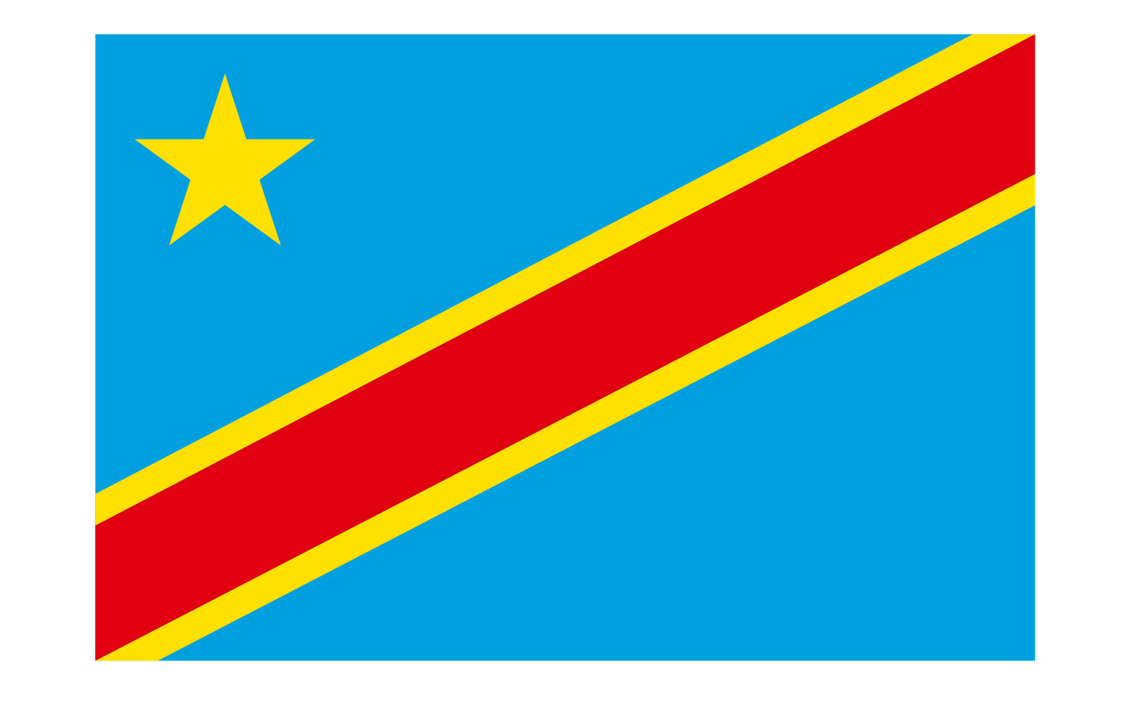 World Flags Democratic Republic of the Congo Flag hd 1600x1000