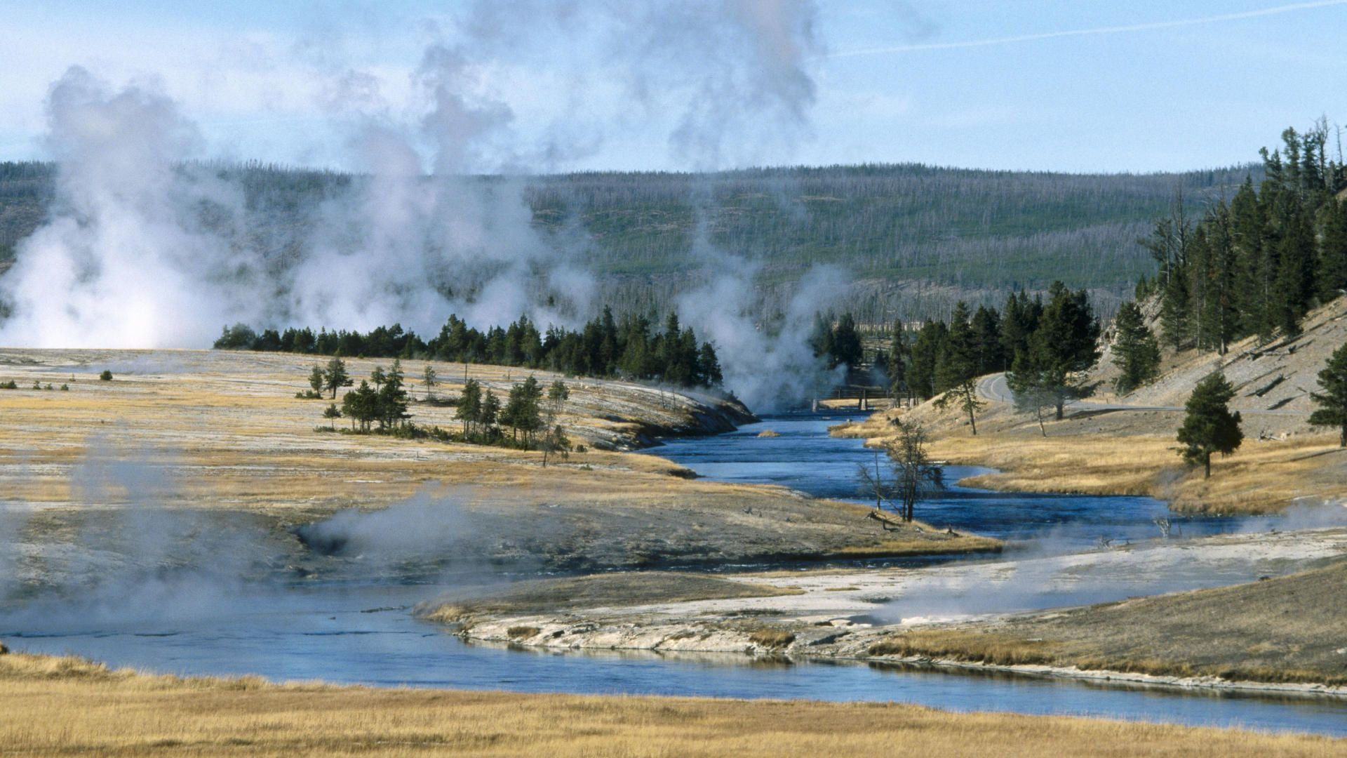 Yellowstone National Park wallpaper 89040 1920x1080
