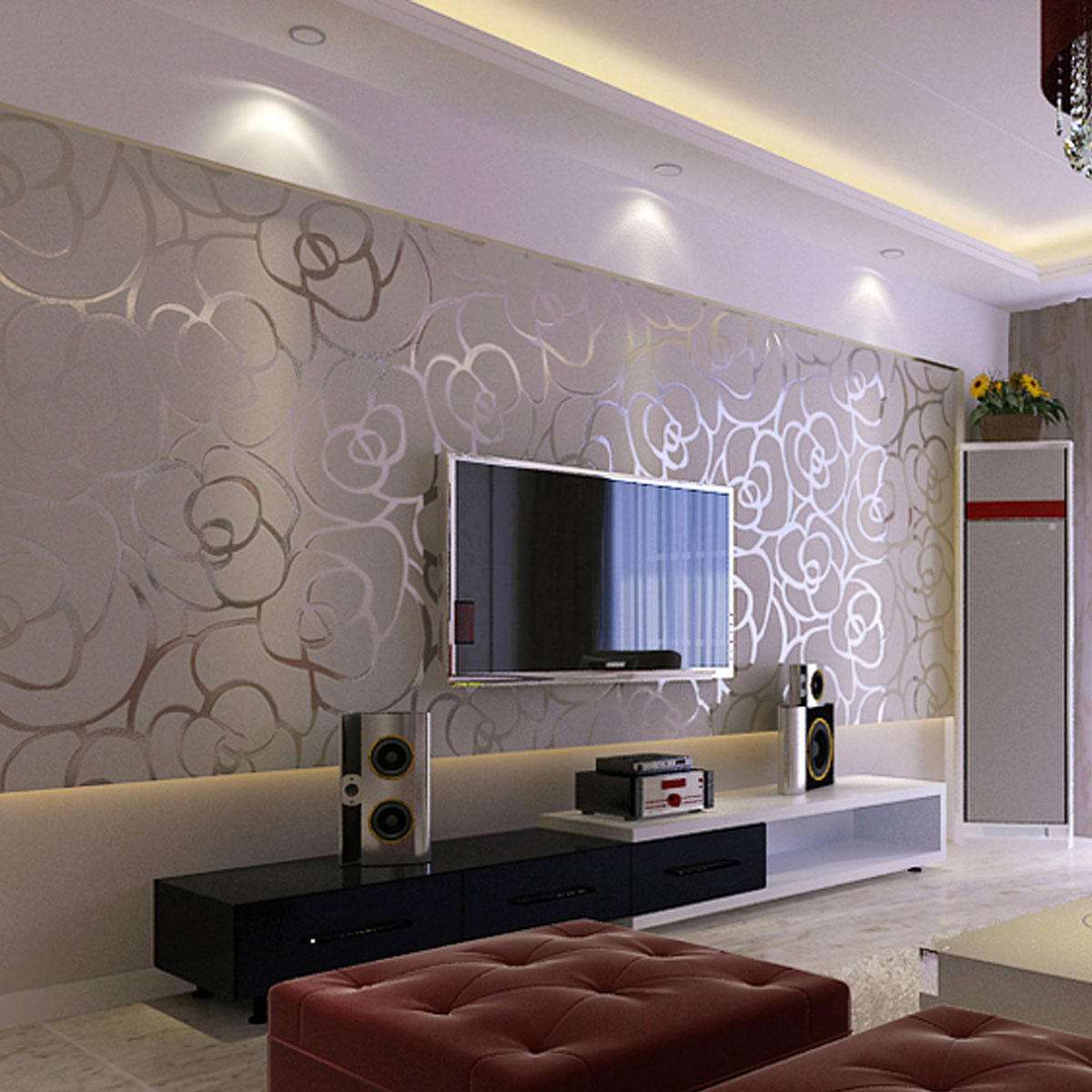 wallpaper decoration develop into one of exquisite modern decoration 1200x1200