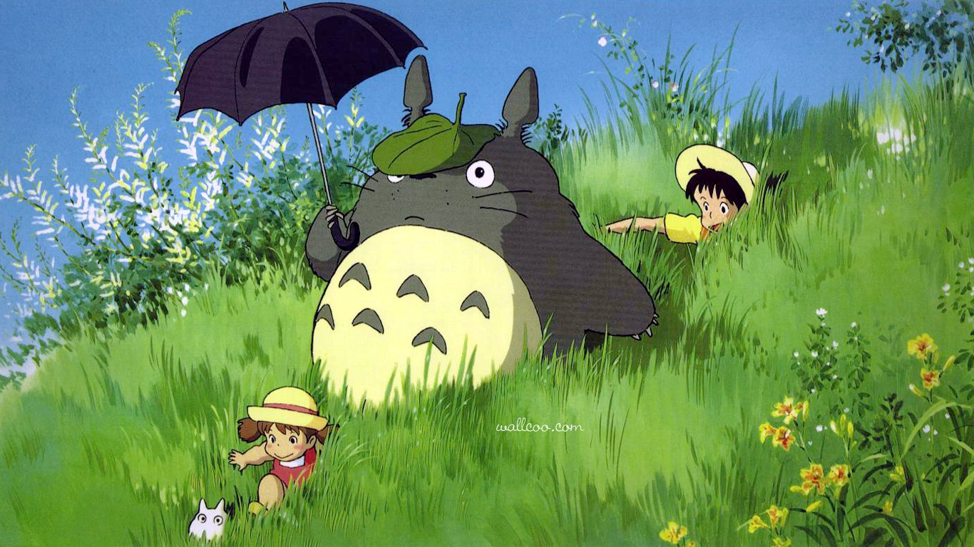 Studio Ghibli Animation Movies Hayao Miyazaki Anime Movie Wallpapers 1366x768