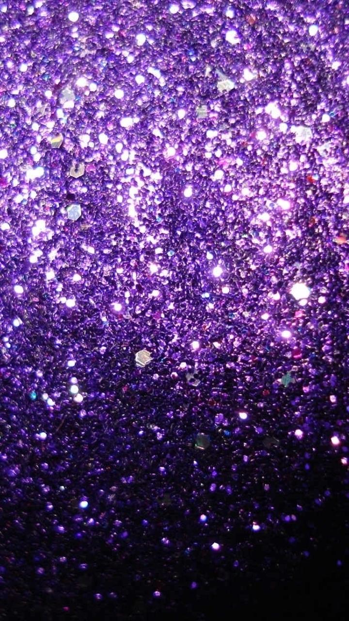 Purple galaxy wallpaper wallpapersafari for Immagini con i brillantini
