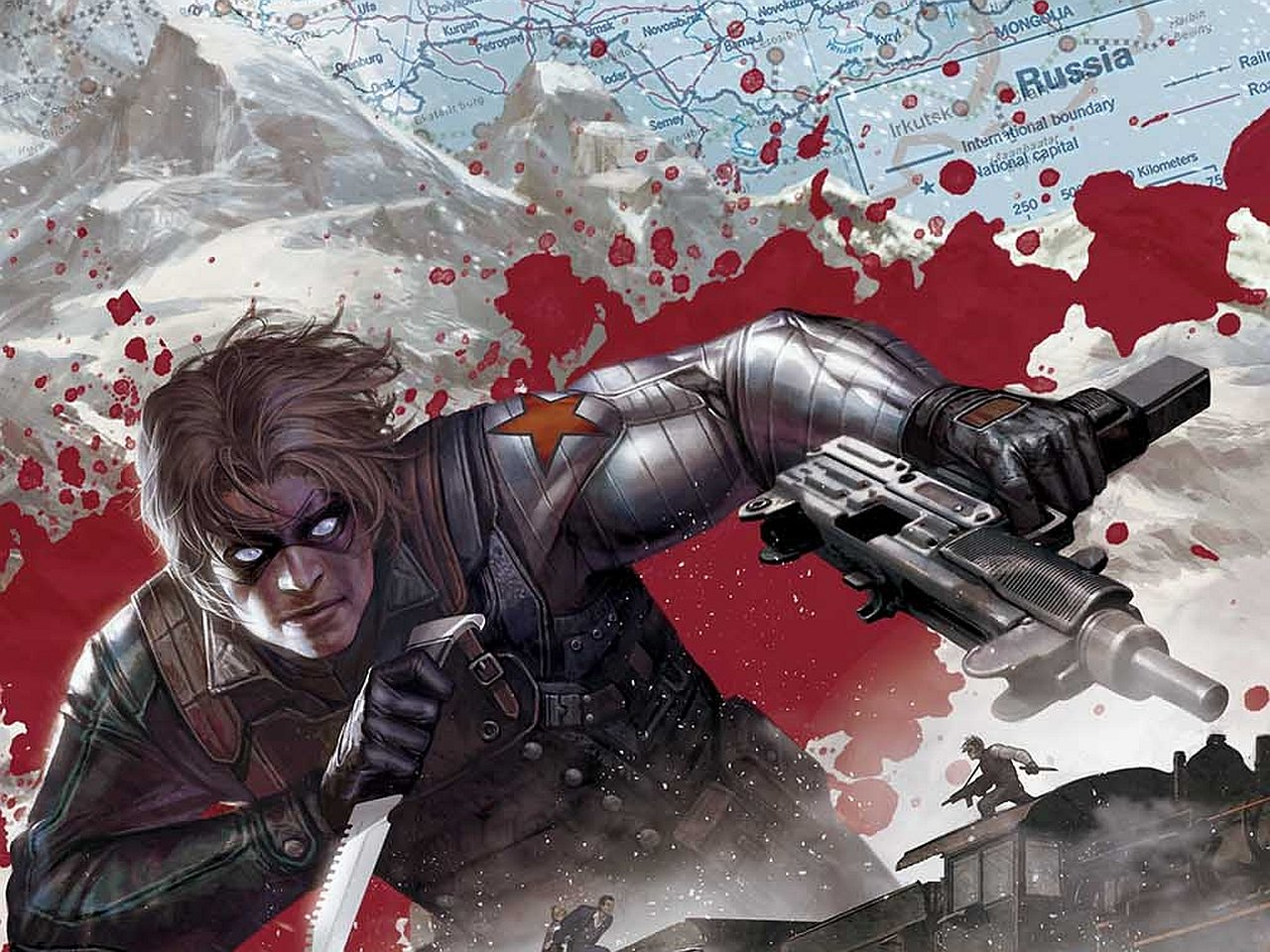 IamKyon images The Winter Soldier HD wallpaper and background photos 1280x960