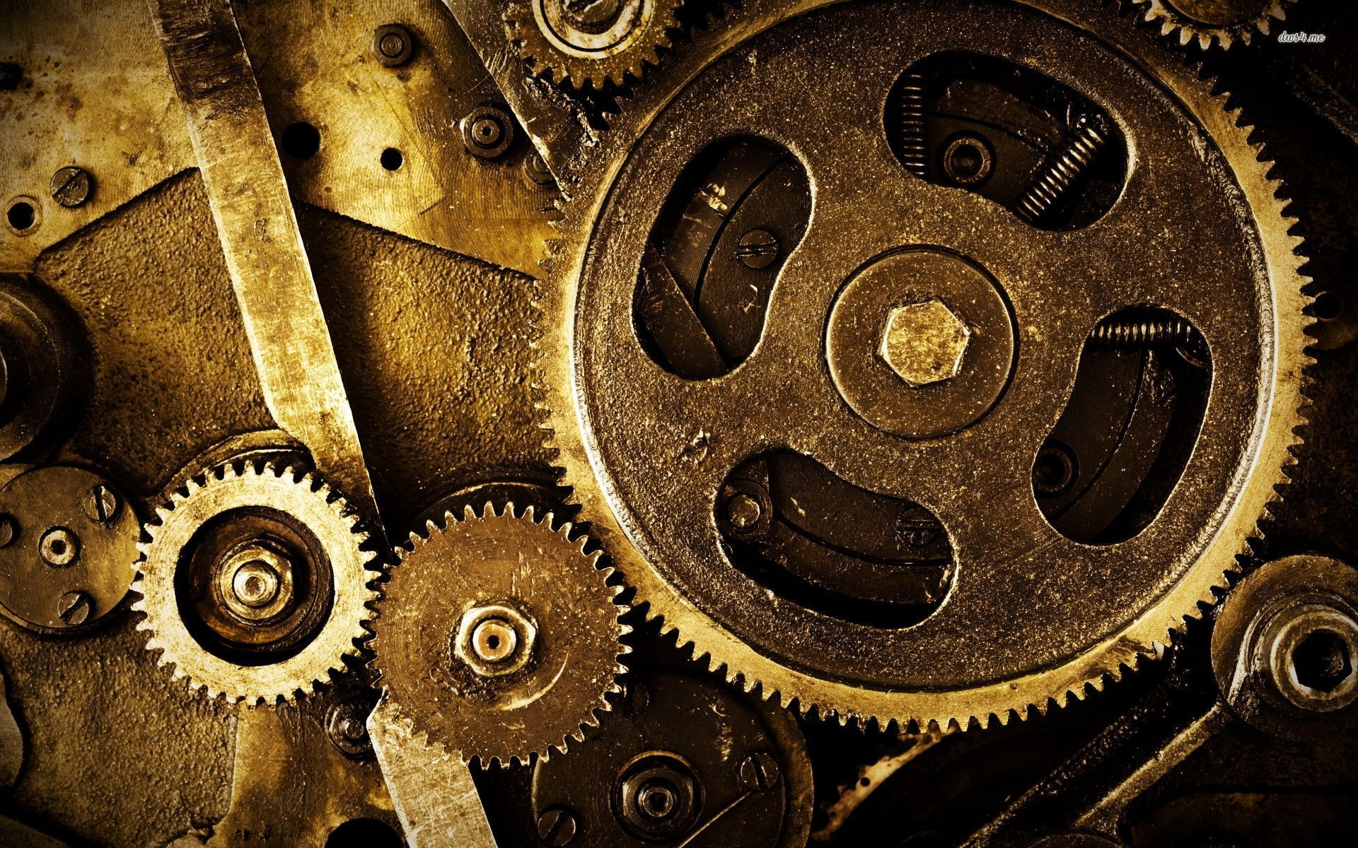 42 Mechanical Gears Wallpaper On Wallpapersafari