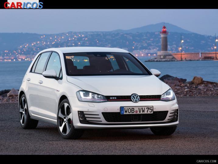 Volkswagen Golf GTI VII 2015   Front HD Wallpaper 24 1920x1080 716x537