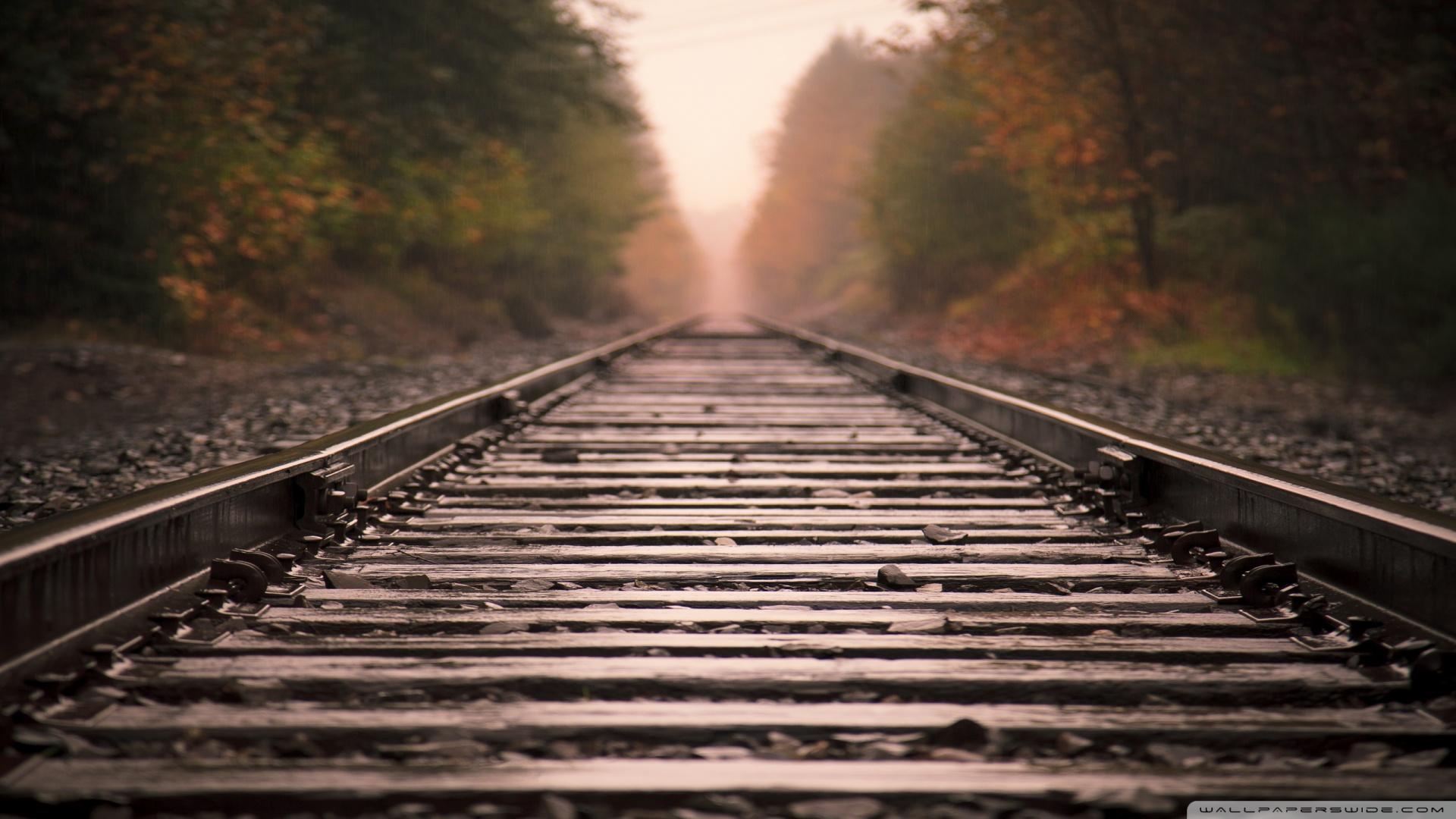 Railroad Wallpaper Hd Railroad tracks wallpaper 1920x1080