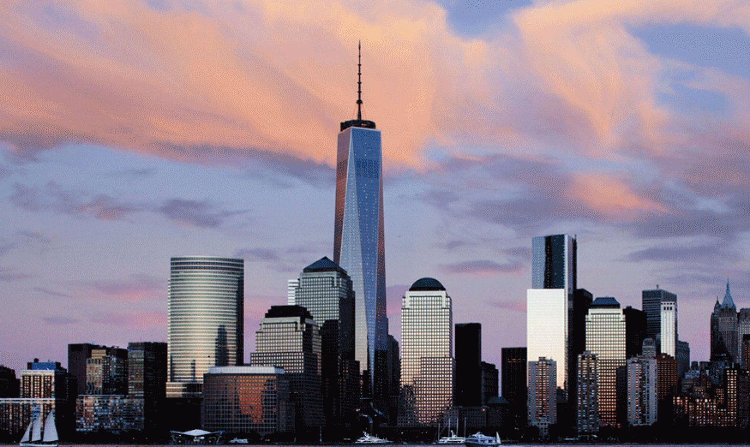 Watch One World Trade Center Rise And Change The New York Skyline 1536x916