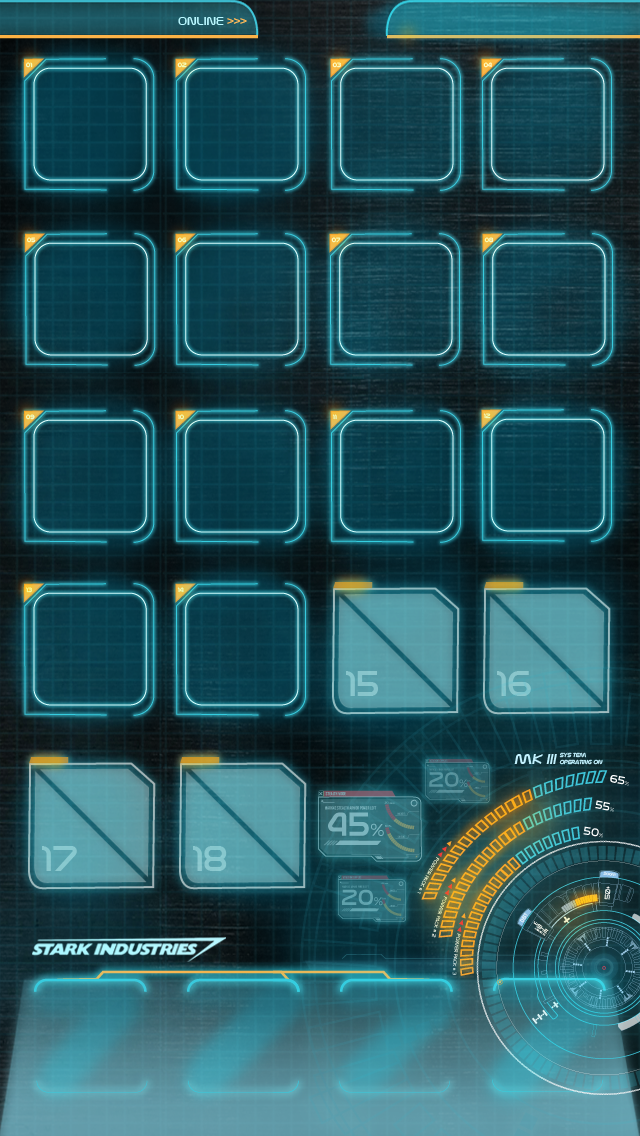 iphone 5 jarvis backgrounds for home screen 640x1136