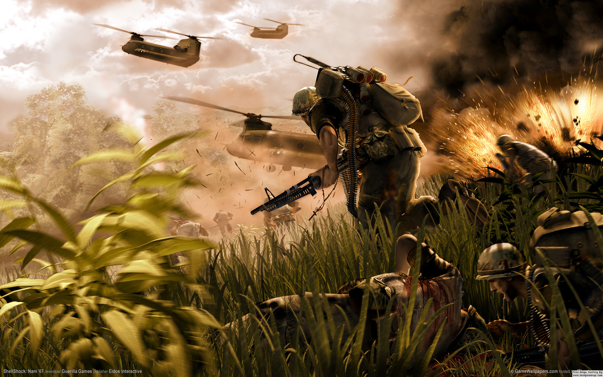 Battlefield 2 Bad Company wallpaper   200774 1920x1200