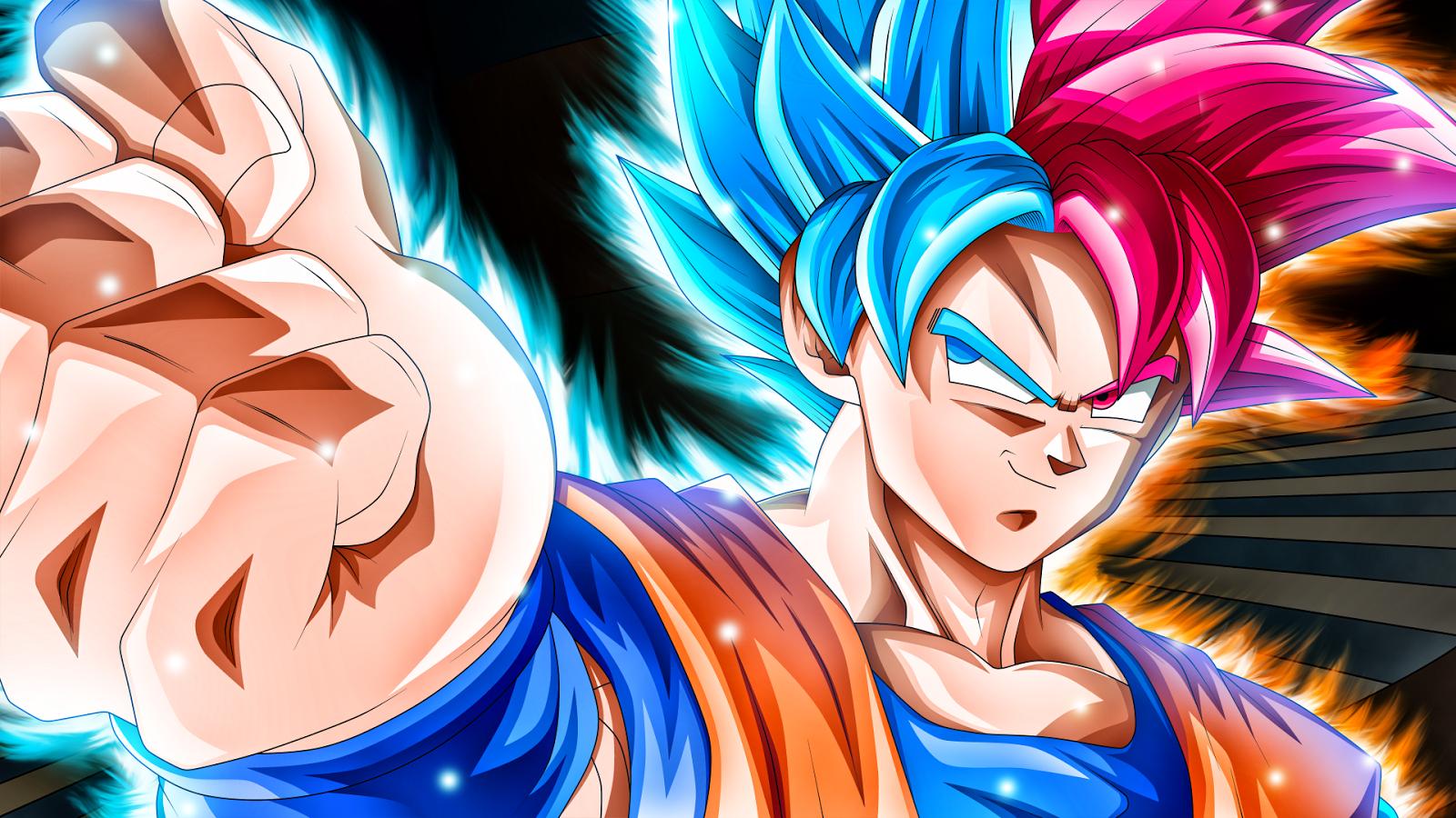 Free Download Son Goku Super Saiyan Blue Wallpaper Images For