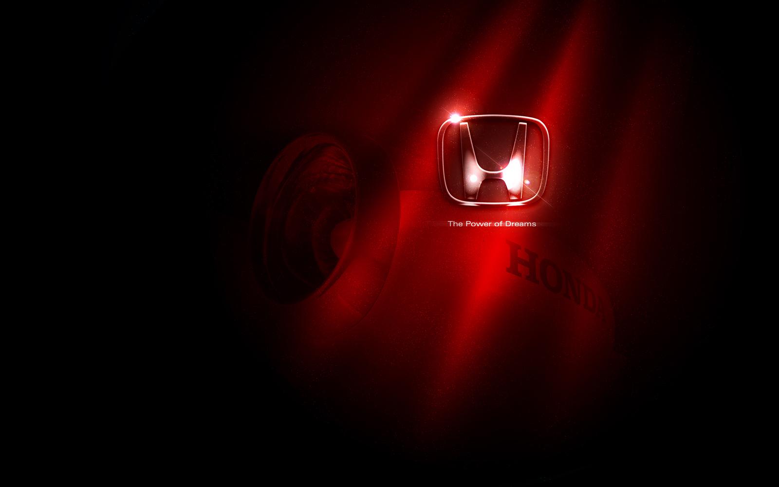 Honda Logo The Power Of Dreams Car HD Wallpaper 3763 HD Wallpaper 1600x1000