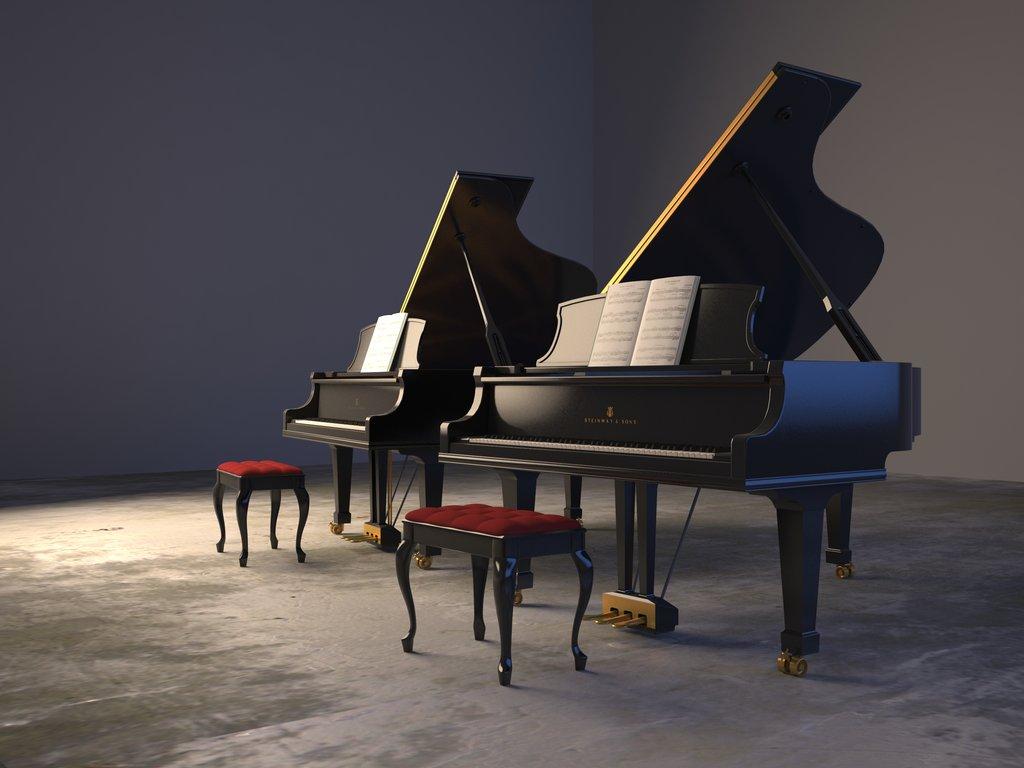 Baby Grand Piano Wallpaper - WallpaperSafari