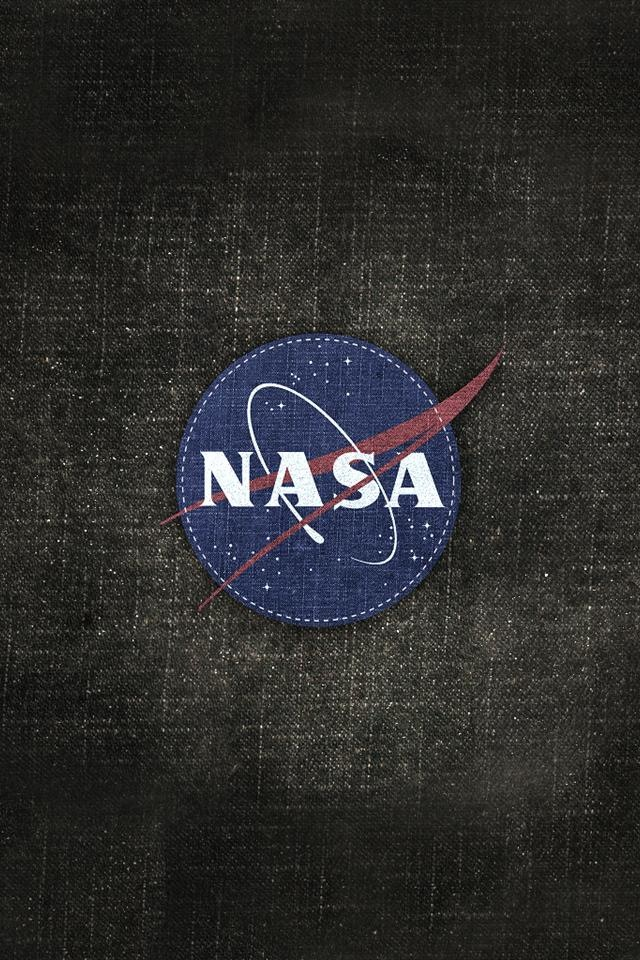 Nasa Logo Wallpaper Nasa Logo Wall For Iphone 640x960