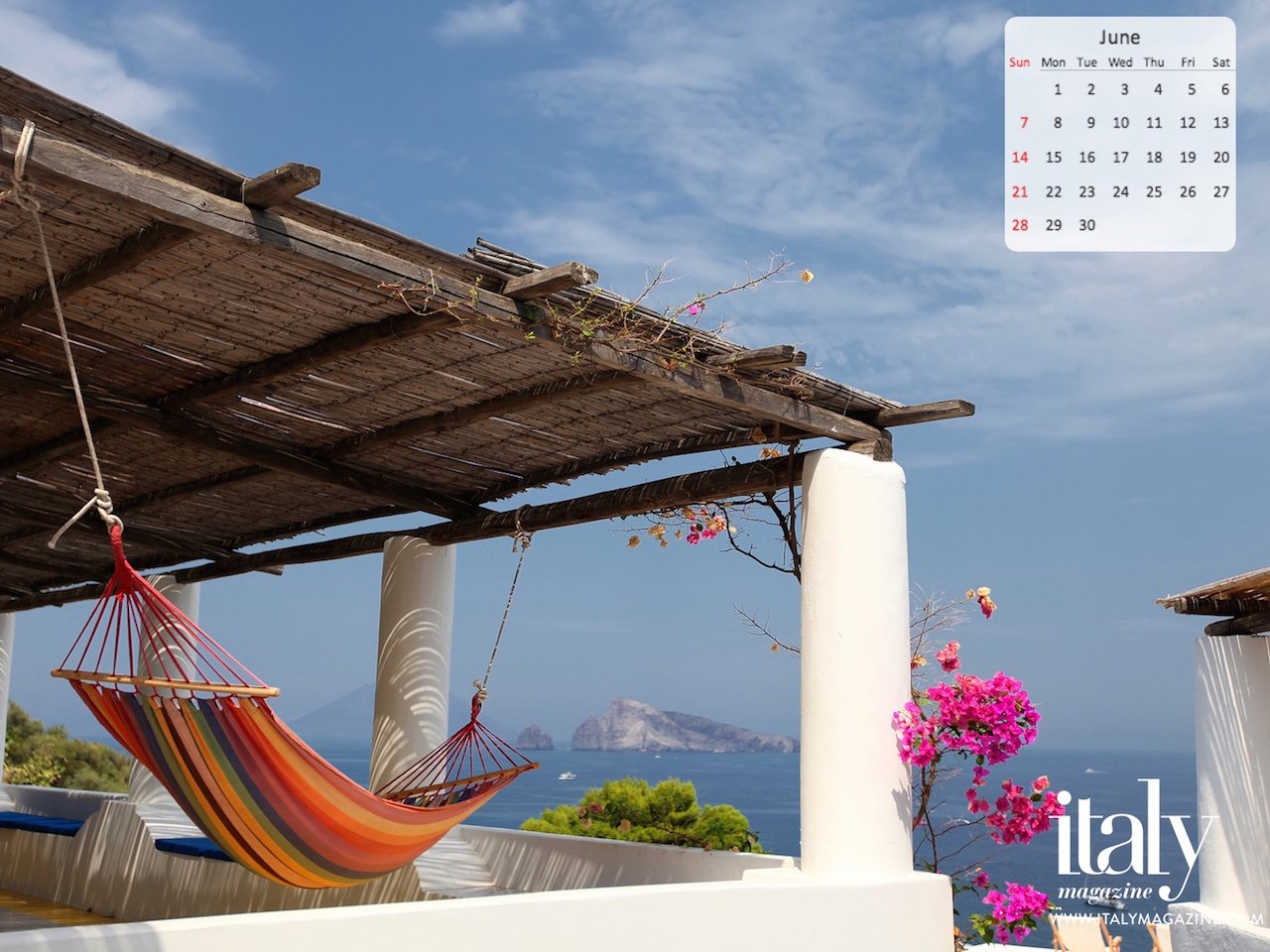 Wallpaper Calendar   June 2015 ITALY Magazine 1280x960