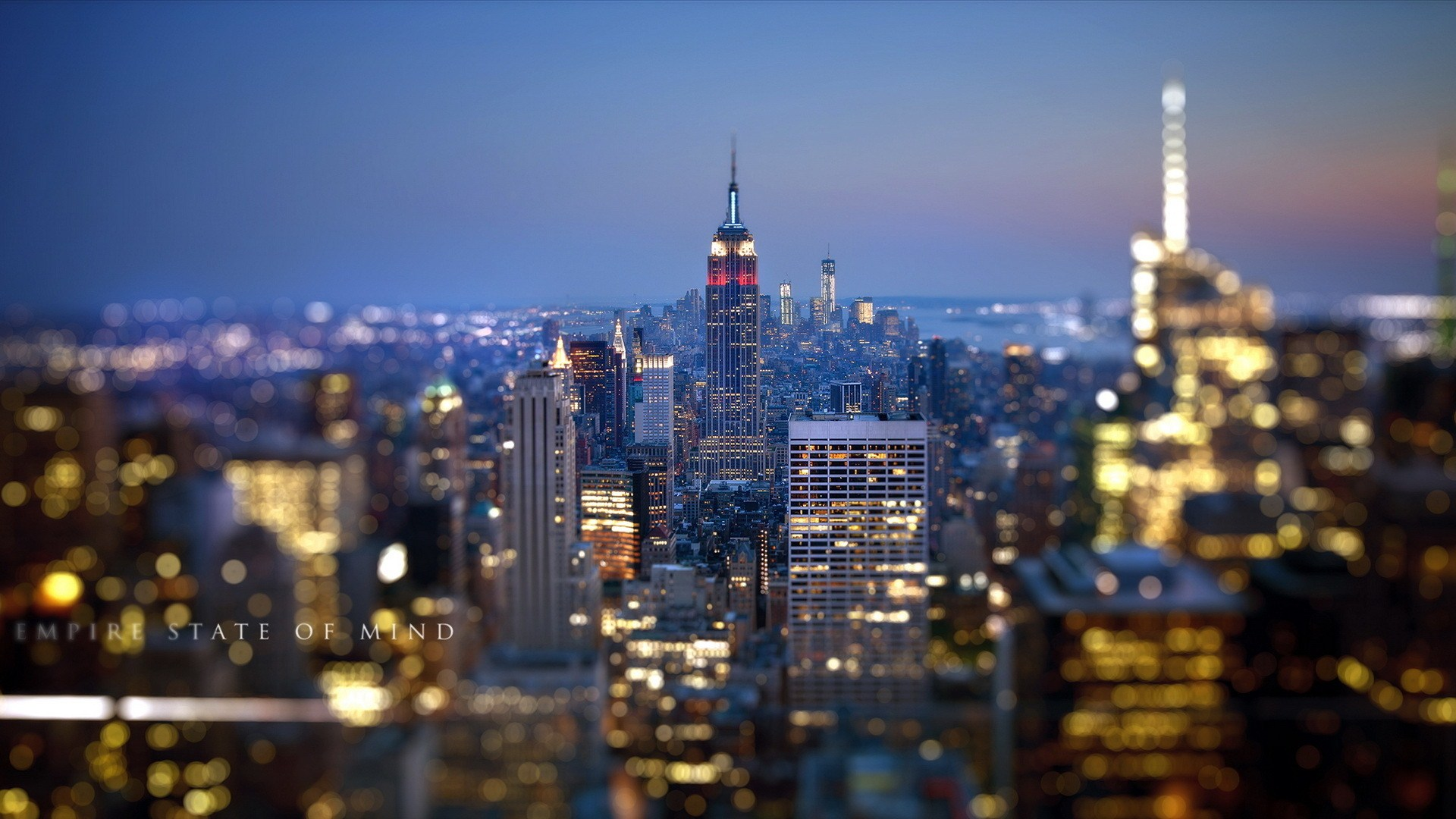 New York City Street HD Wallpaper 1920x1080