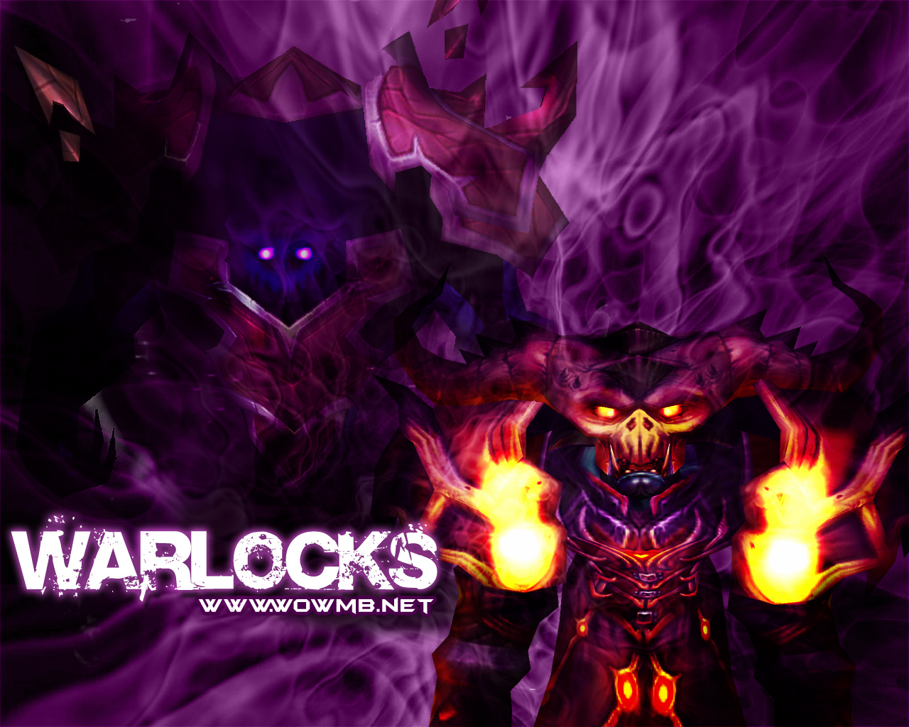 wow warlock wallpaper wallpapersafari
