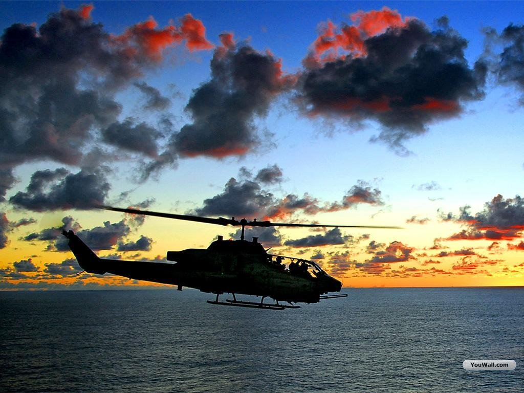 YouWall   Helicopter Wallpaper   wallpaperwallpapersfree wallpaper 1024x768