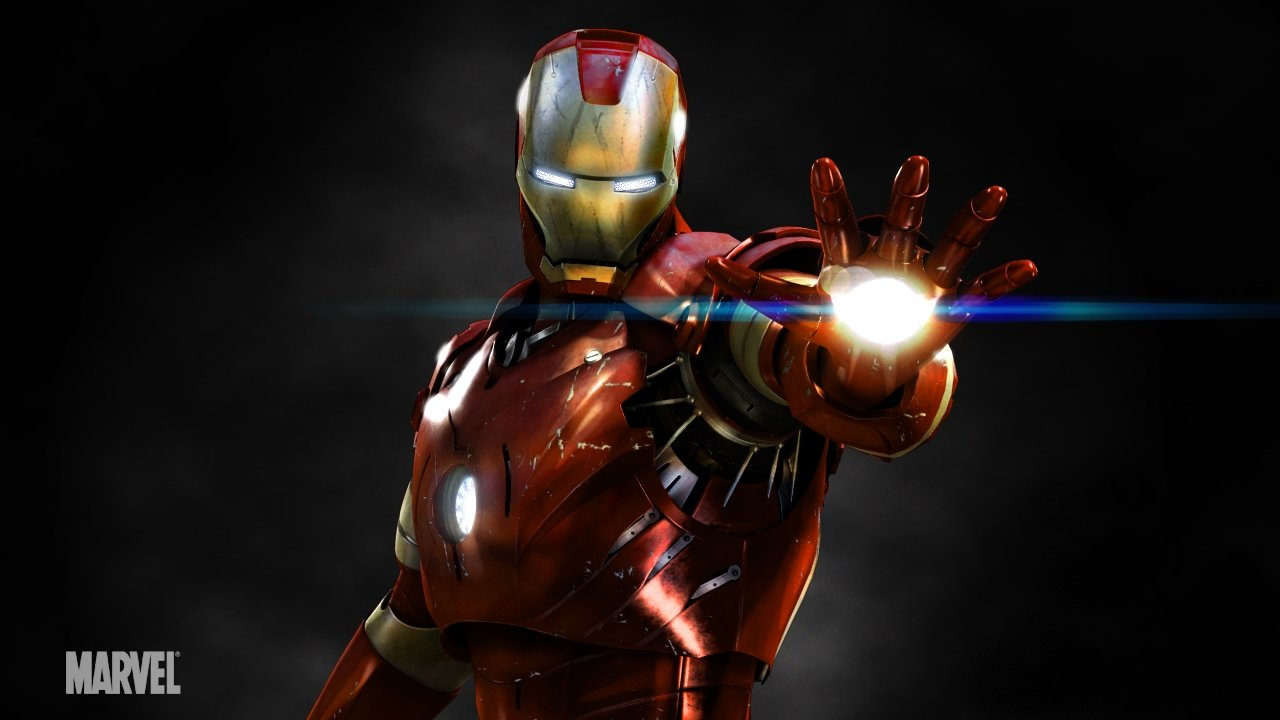 THE BING Iron Man Movie Character Wallpaper 1280x720