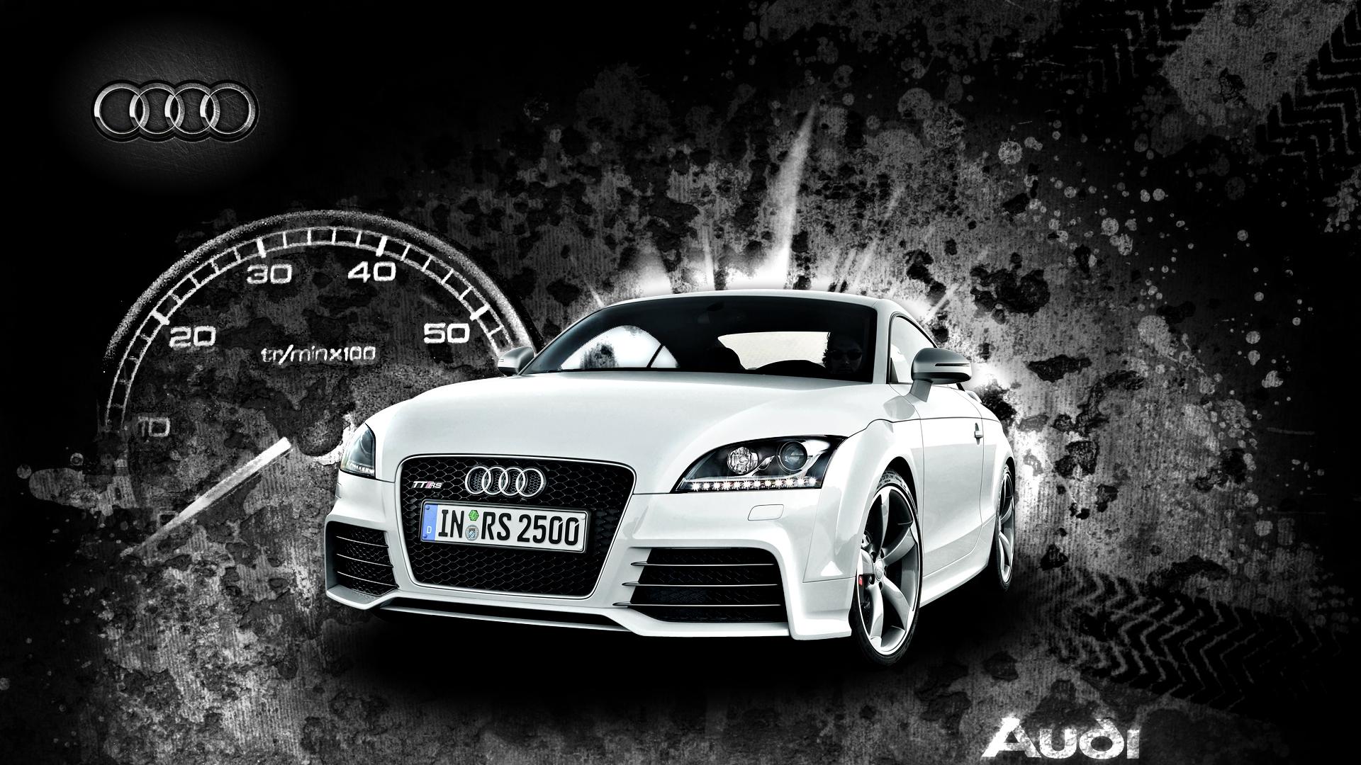 Audi TT RS by oxyde68 1920x1080