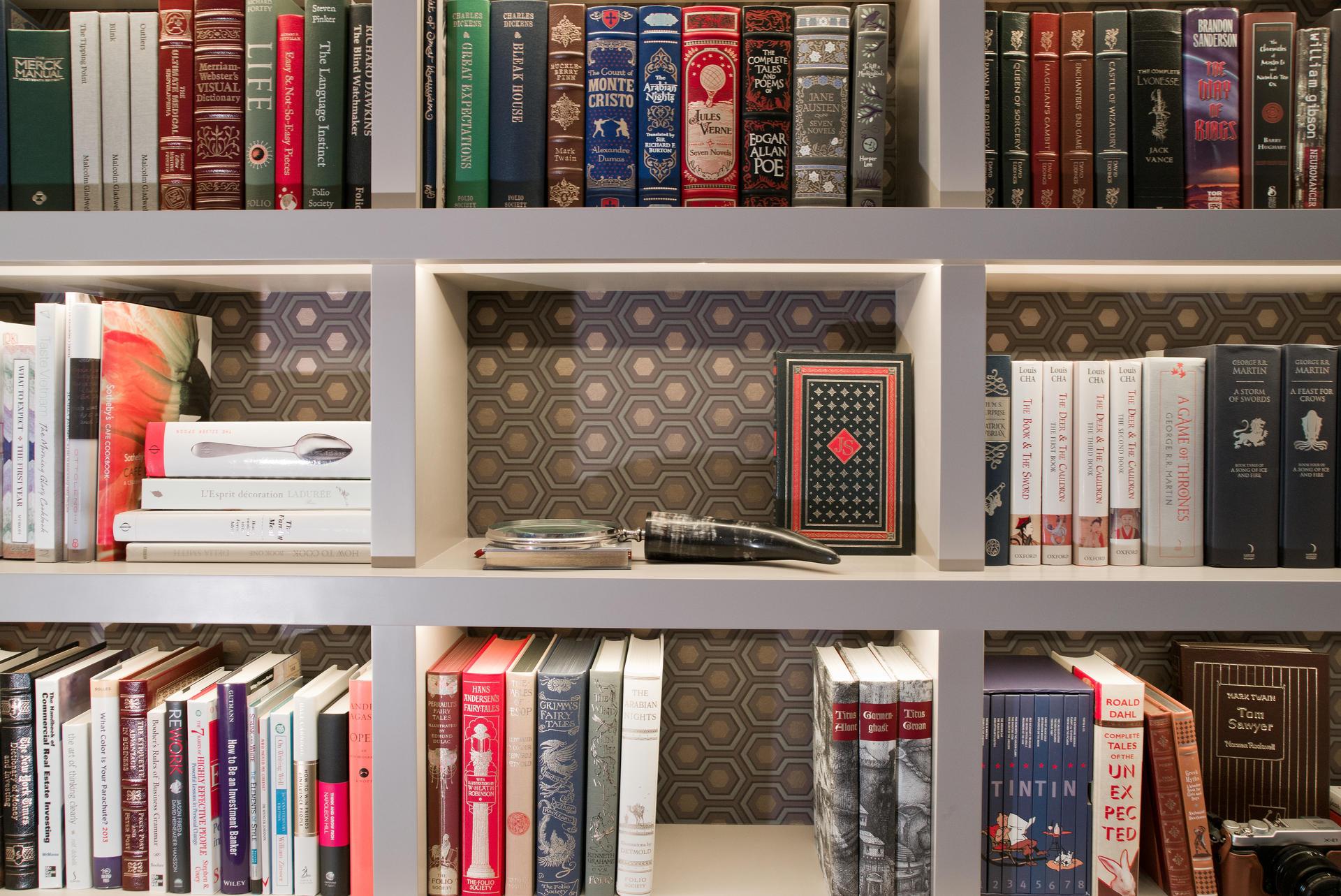 Wallpaper Behind Shelves Wallpapersafari