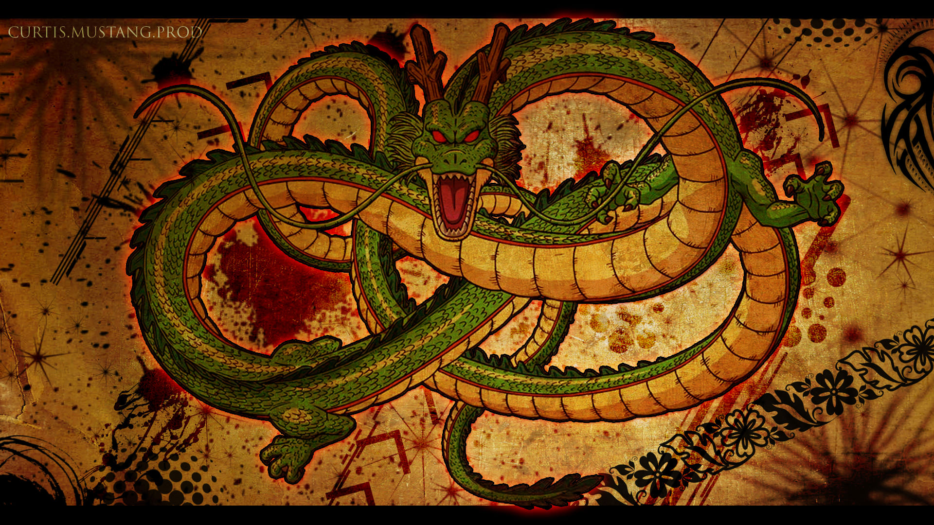 Dragon Ball Z Shenron Dragon Wallpaper 1920 x 1080px 1920x1080