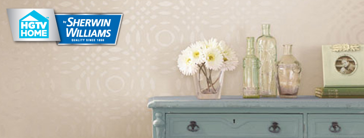 HGTV HOME by Sherwin Williams Neutral Nuance Wallpaper Collection 738x281