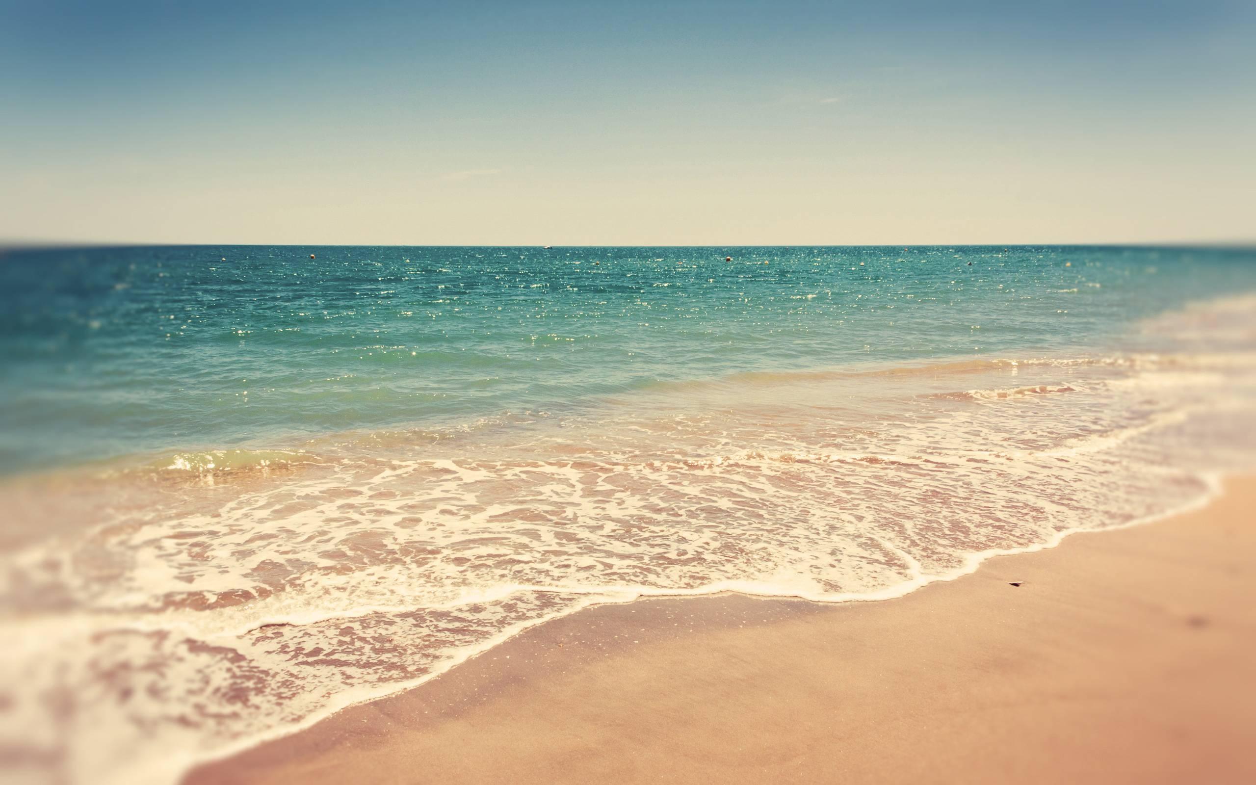 Summer Beach Backgrounds 2560x1600