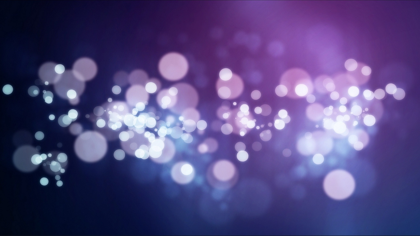 Wallpaper bubbles purple background 3d widescreen on the desktop 1366x768