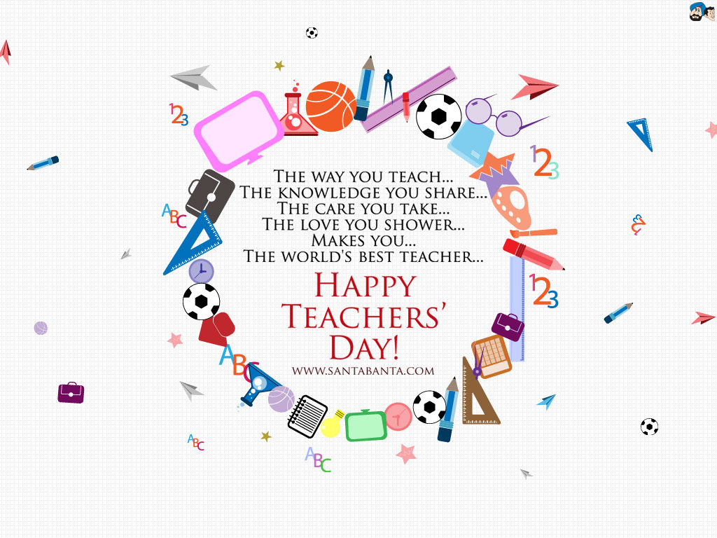 Teachers Day Wallpaper 12 1024x768