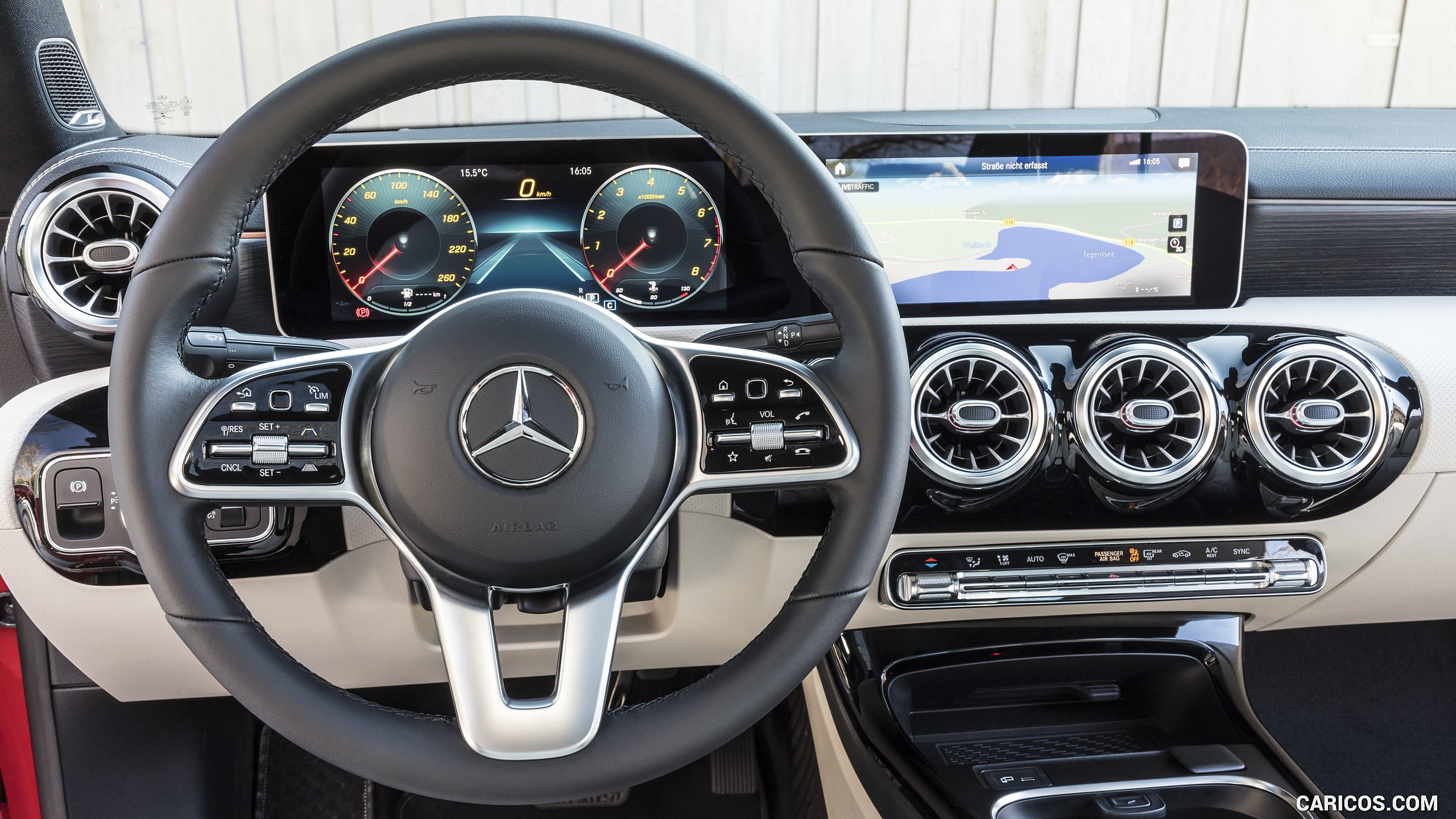 2020 Mercedes Benz CLA 200 Coupe   Interior HD Wallpaper 109 2560x1440