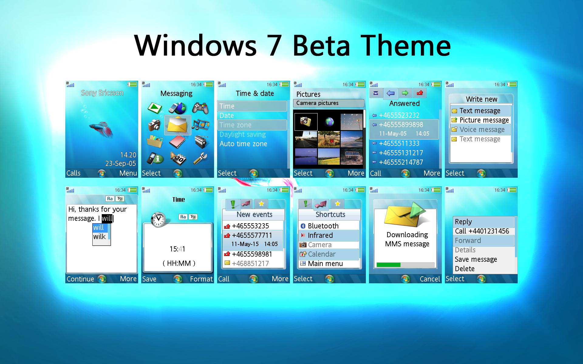 Wallpaper Windows 7 Beta Windows 7 beta theme by 1920x1200