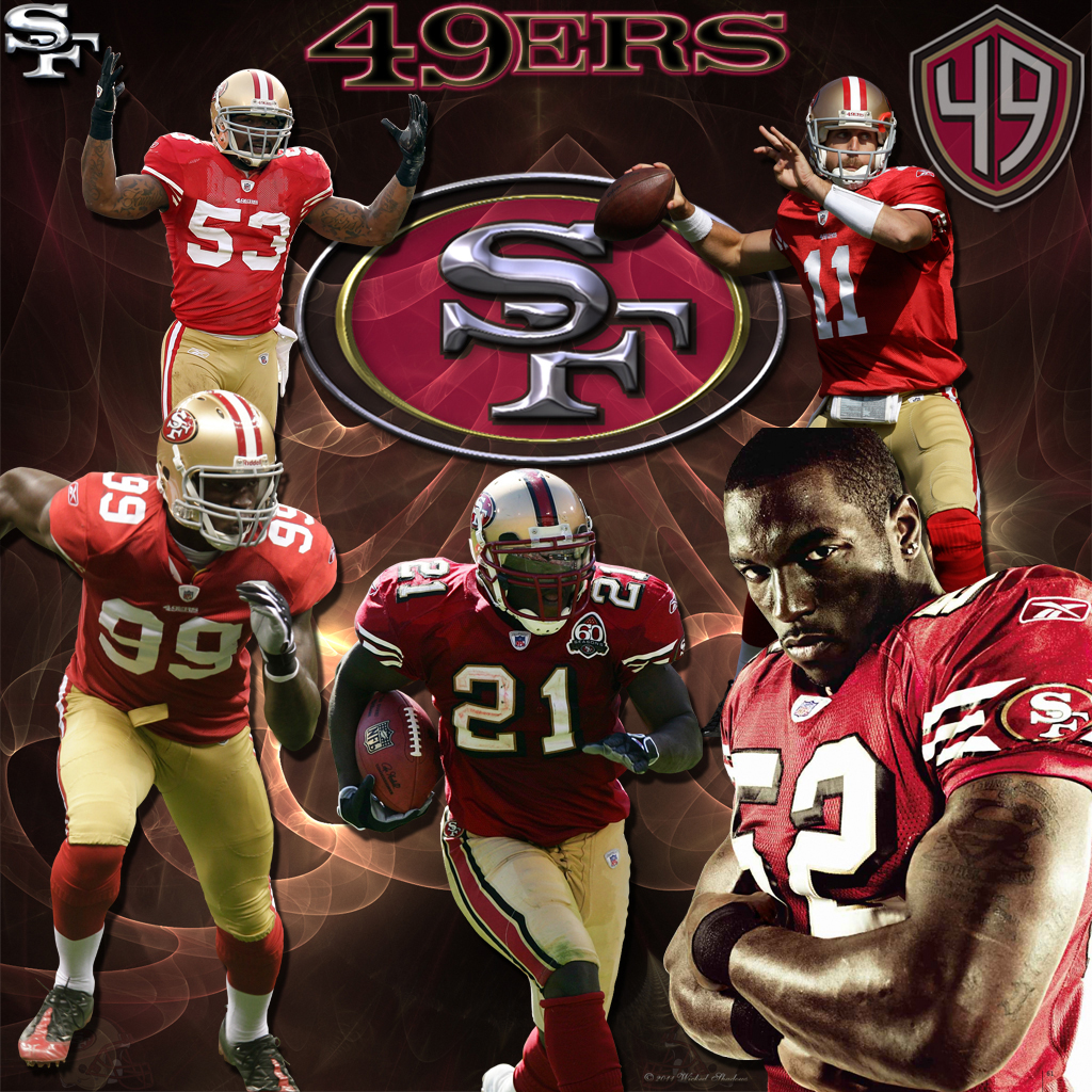 San Francisco 49ers wallpaper San Francisco 49ers wallpapers 1024x1024