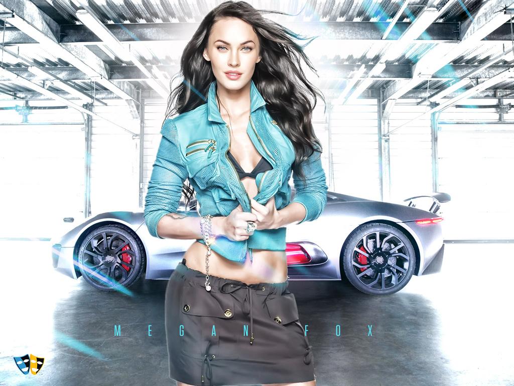 Megan Fox Desktop Wallpaper 43999 Hollywood Celebrities Wallpapers 1024x768
