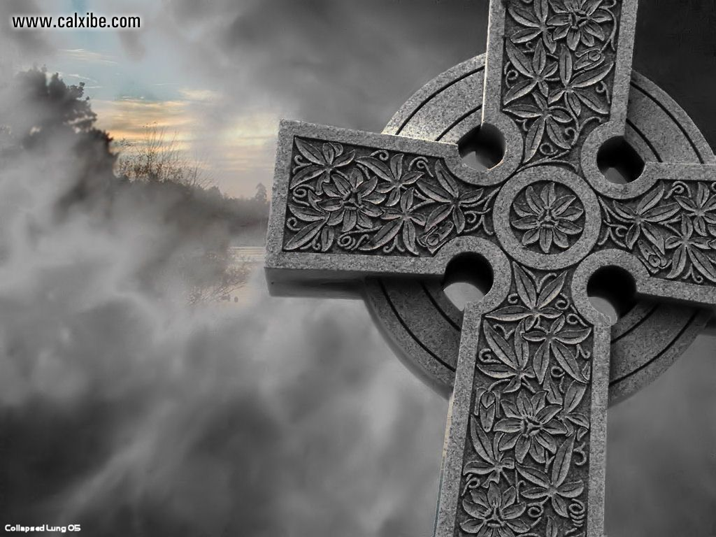 Pics Photos   3d Celtic Cross Wallpaper 1024x768