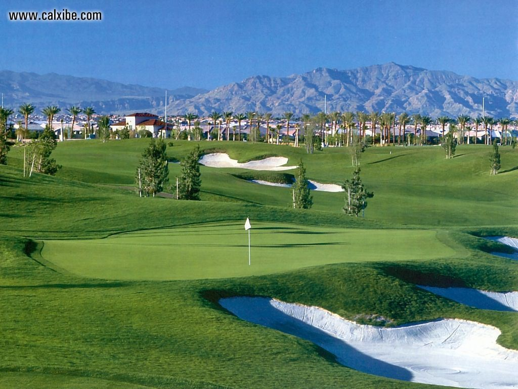 golf course background wallpaper 1024x768