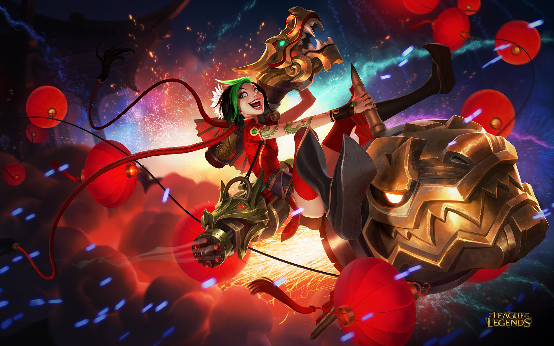 Leading the way into the Lunar Revel we have three new skins These 1920x1200
