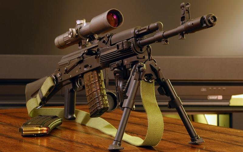 guns weapons sniper rifle ak74 1920x1200 wallpaper Gun Wallpaper 800x500