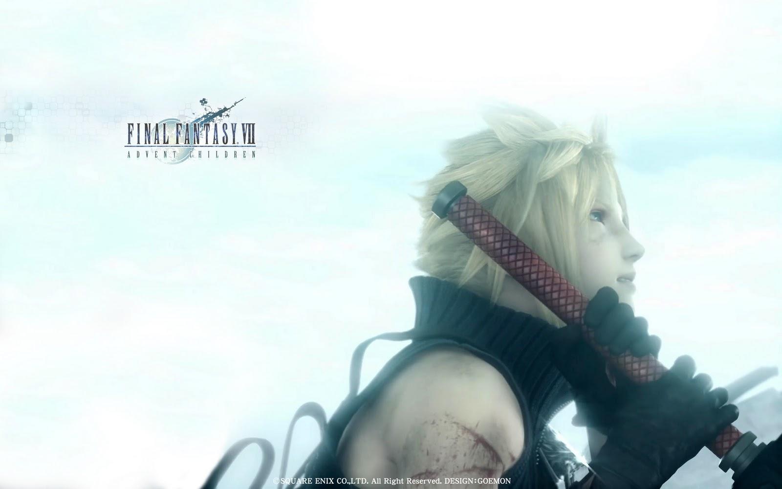 Final Fantasy HD Wallpaper Final Fantasy VII Advent 1600x1000