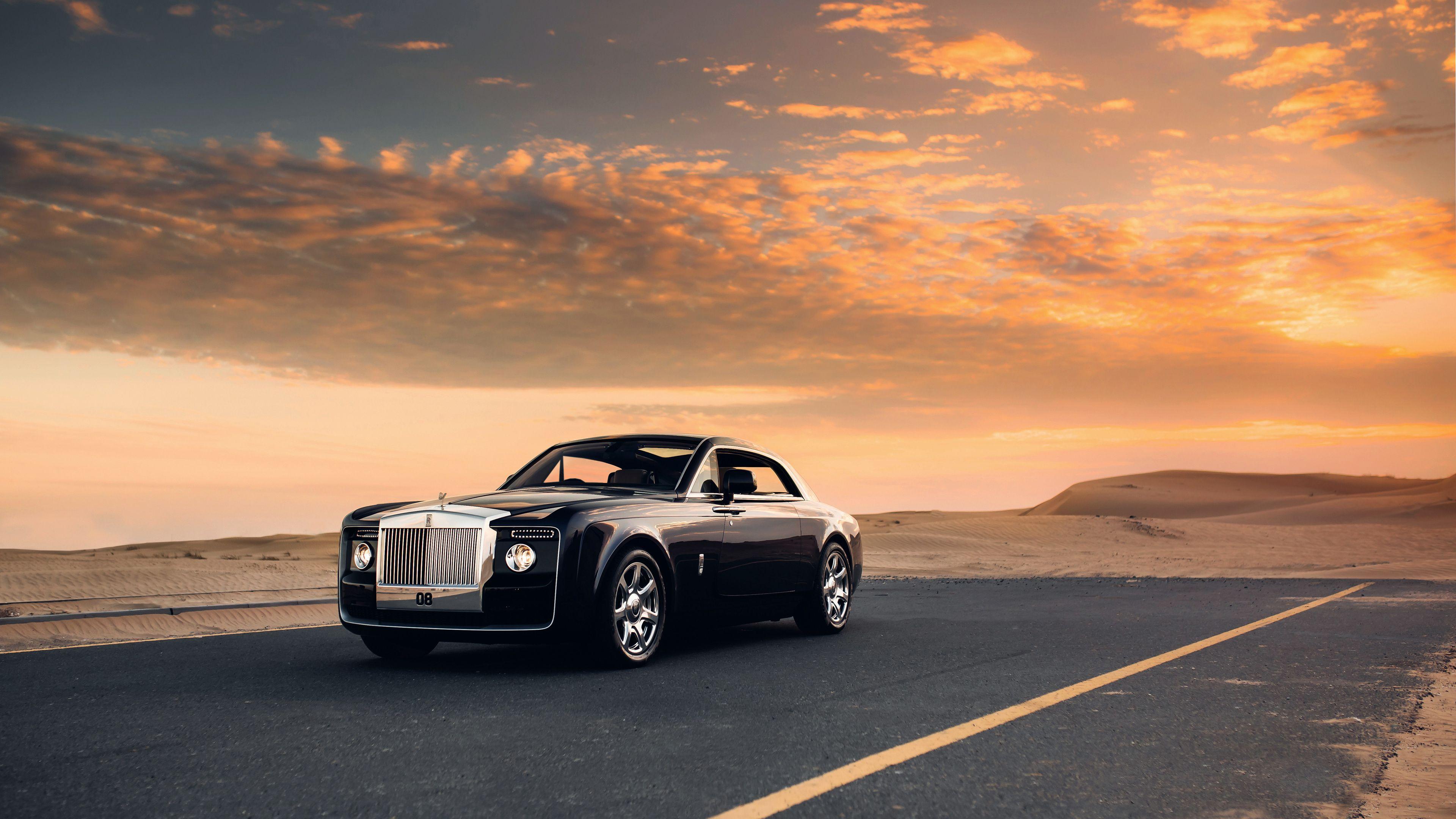 Wallpaper 4k Rolls Royce Sweptail Car 2017 cars wallpapers 4k 3840x2160