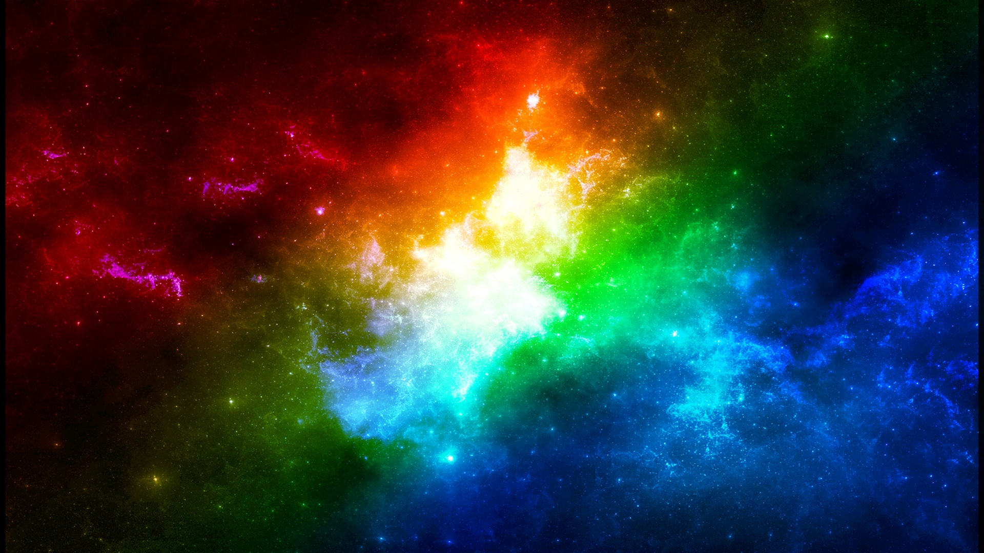 Colorful nebula wallpaper Wallpaper Wide HD 1920x1080