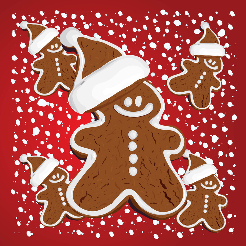 Images Of Gingerbread Background