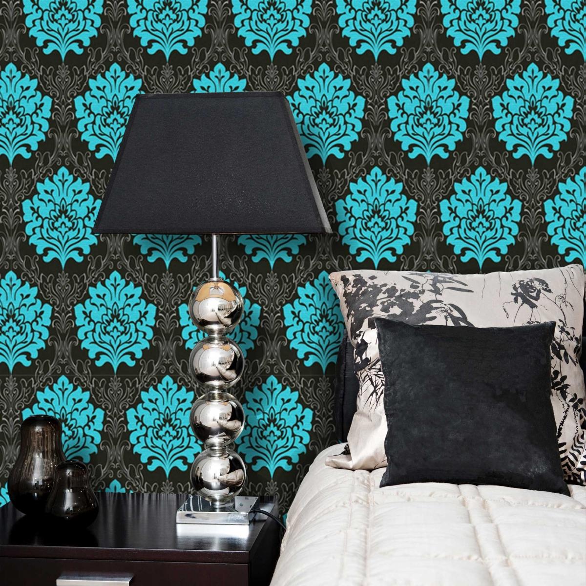black and cyan wallpaper wallpapersafari